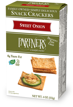 SWEET ONION CRACKERS