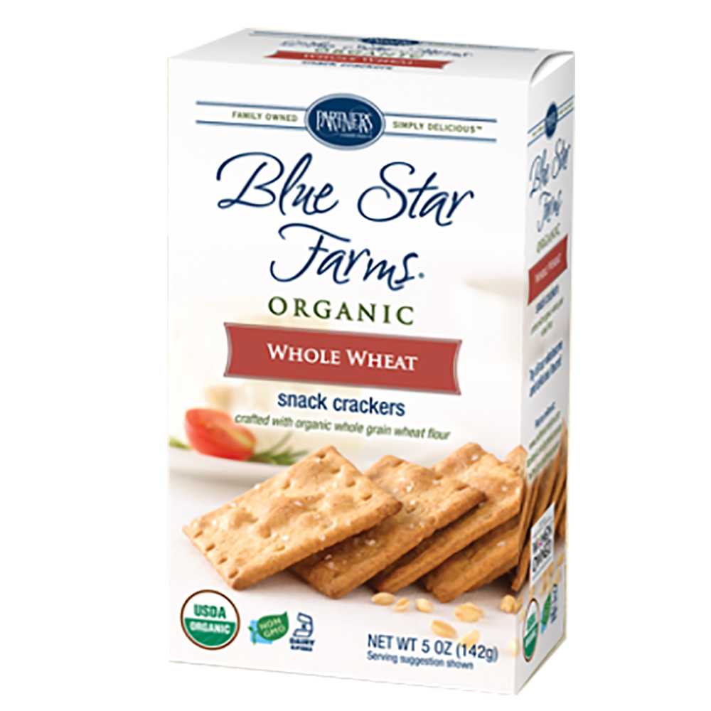 BSF WHOLE WHEAT CRACKERS