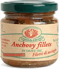ANCHOVIES IN JAR