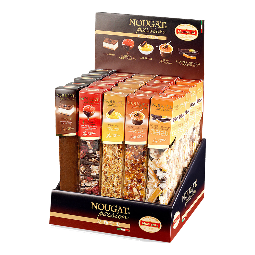 PASSION ASSORTED NOUGAT DISPLAY