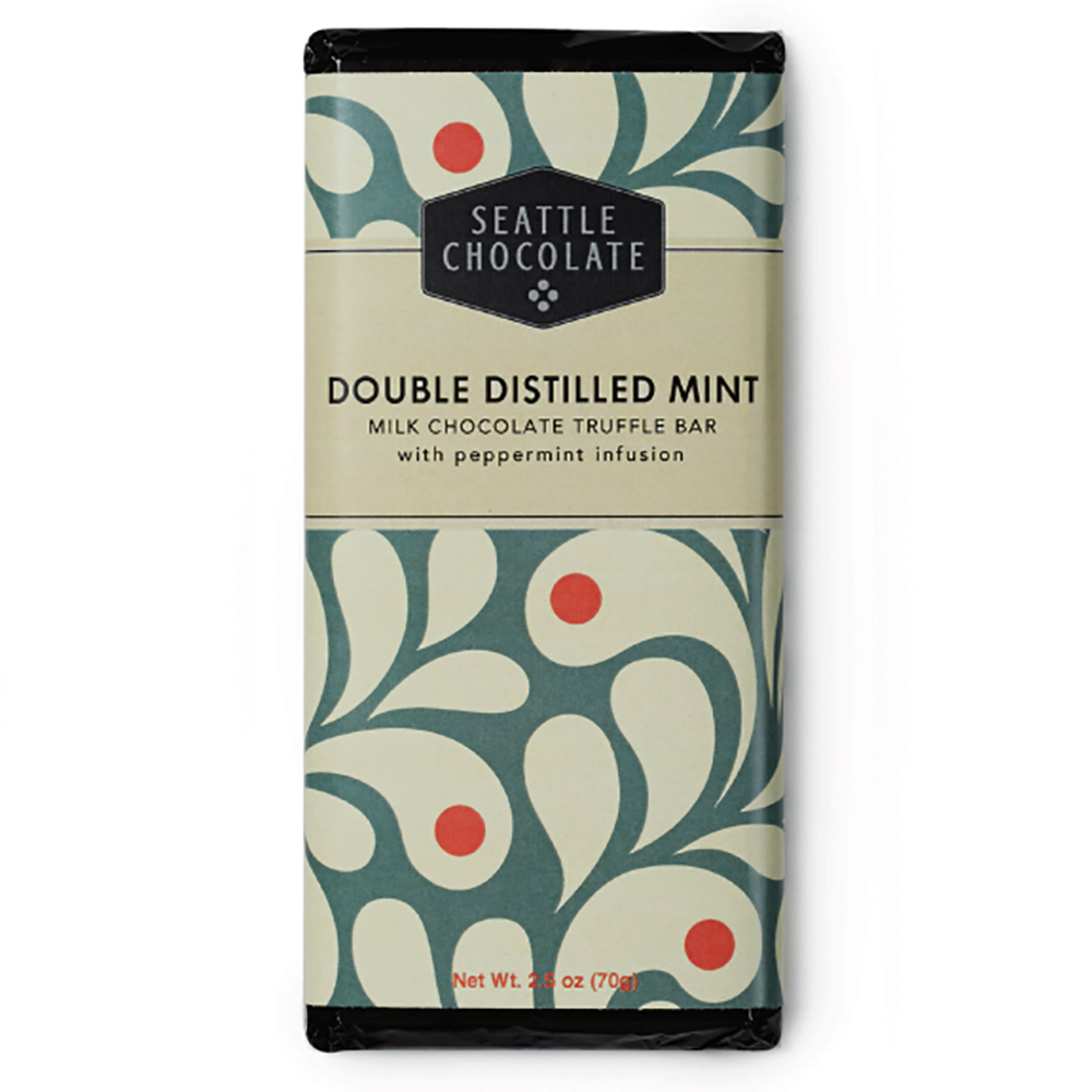 DOUBLE DISTILLED MINT CHOC BAR
