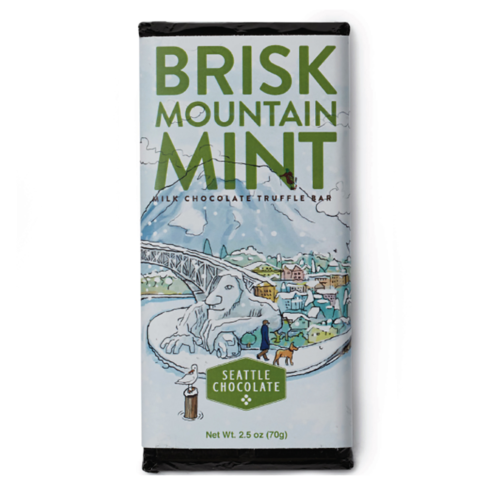 BRISK MOUNTAIN MINT CHOC BAR
