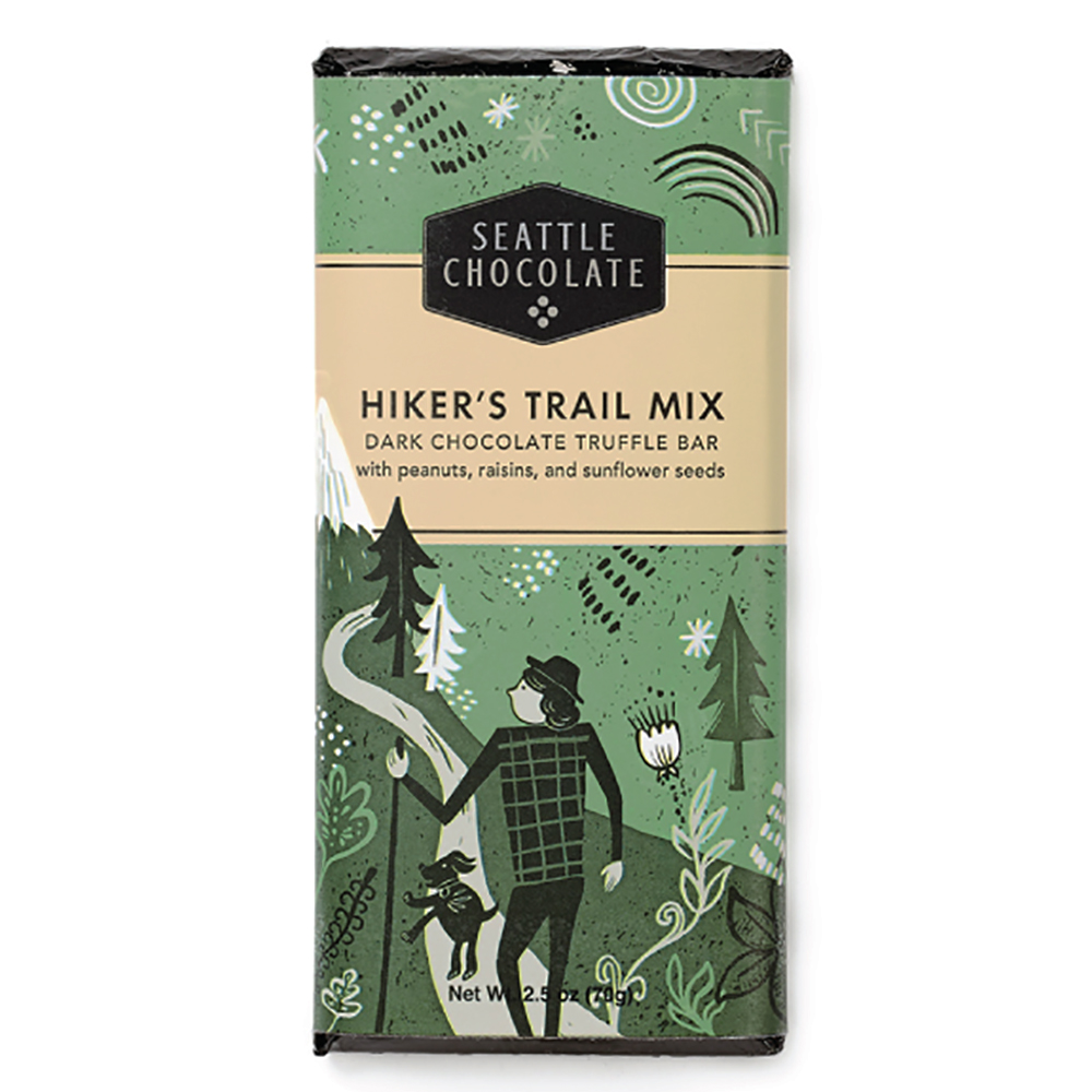 HIKER'S TRAIL MIX CHOC BAR