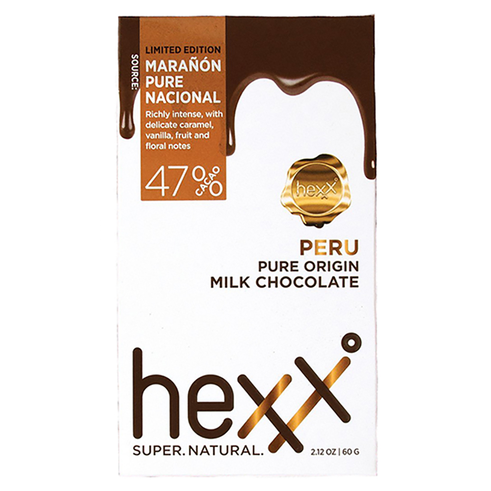 PERU PURE ORIGIN MILK CHOCOLATE 47%