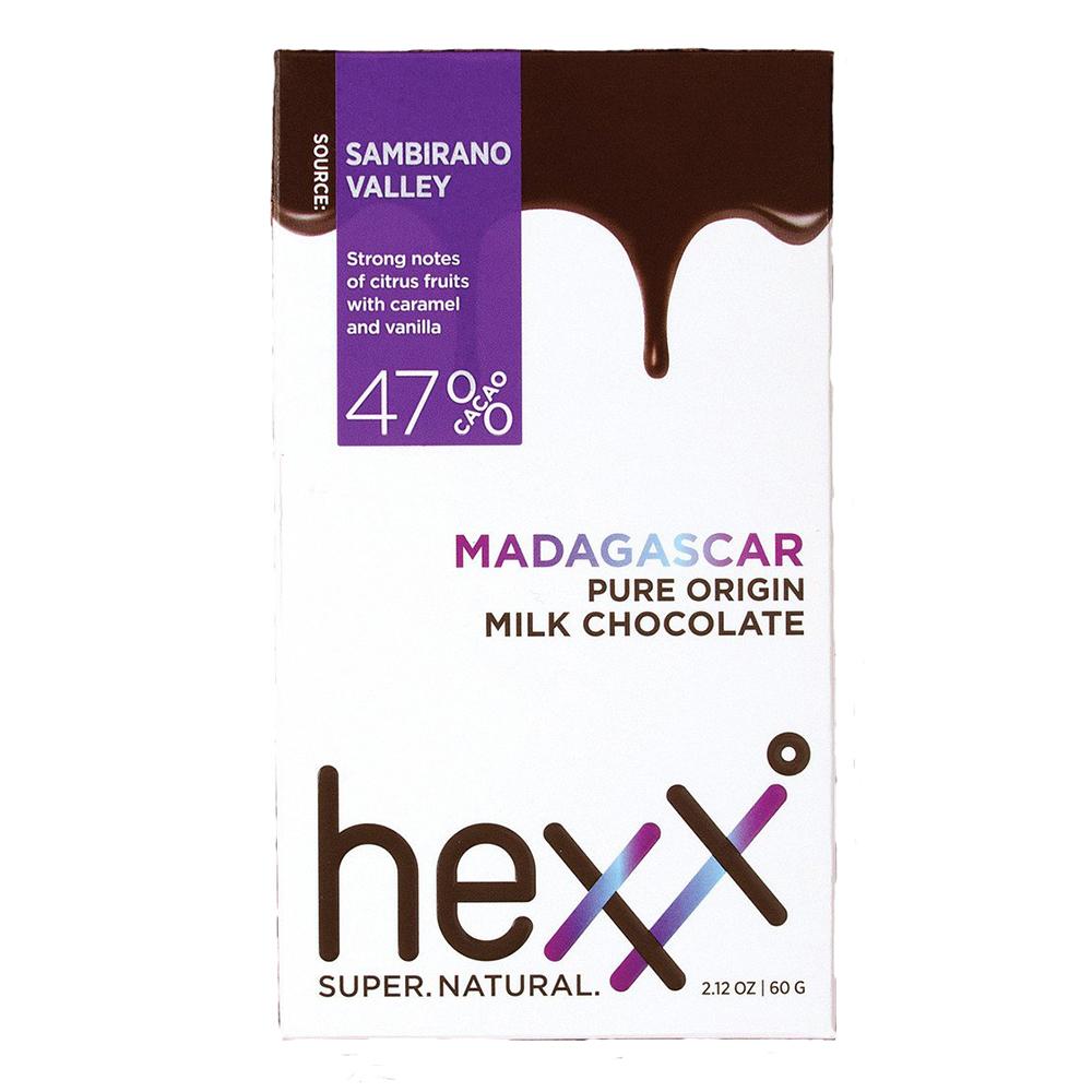 MADAGASCAR 47% MILK CHOCOLATE BAR