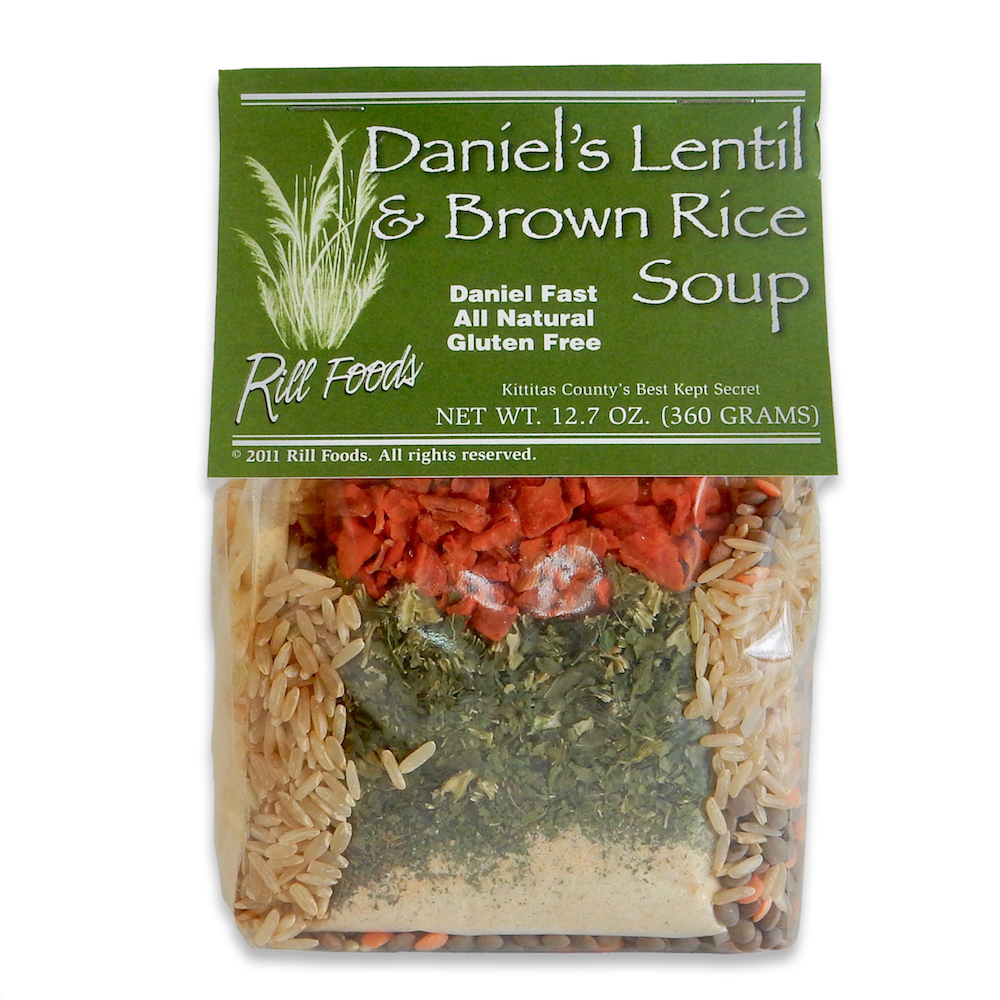 DANIEL LENTIL & BROWN RICE SOUP MIX