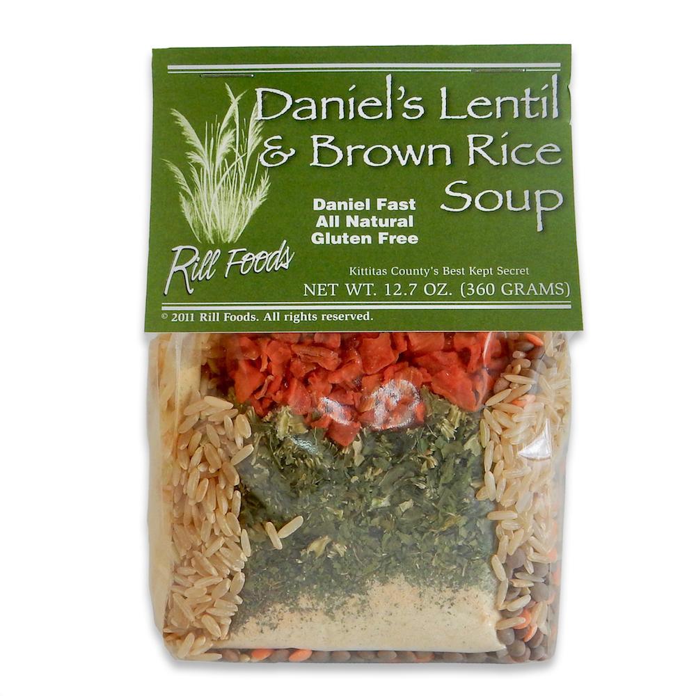 DANIEL LENTIL & BROWN RICE SOUP MIX