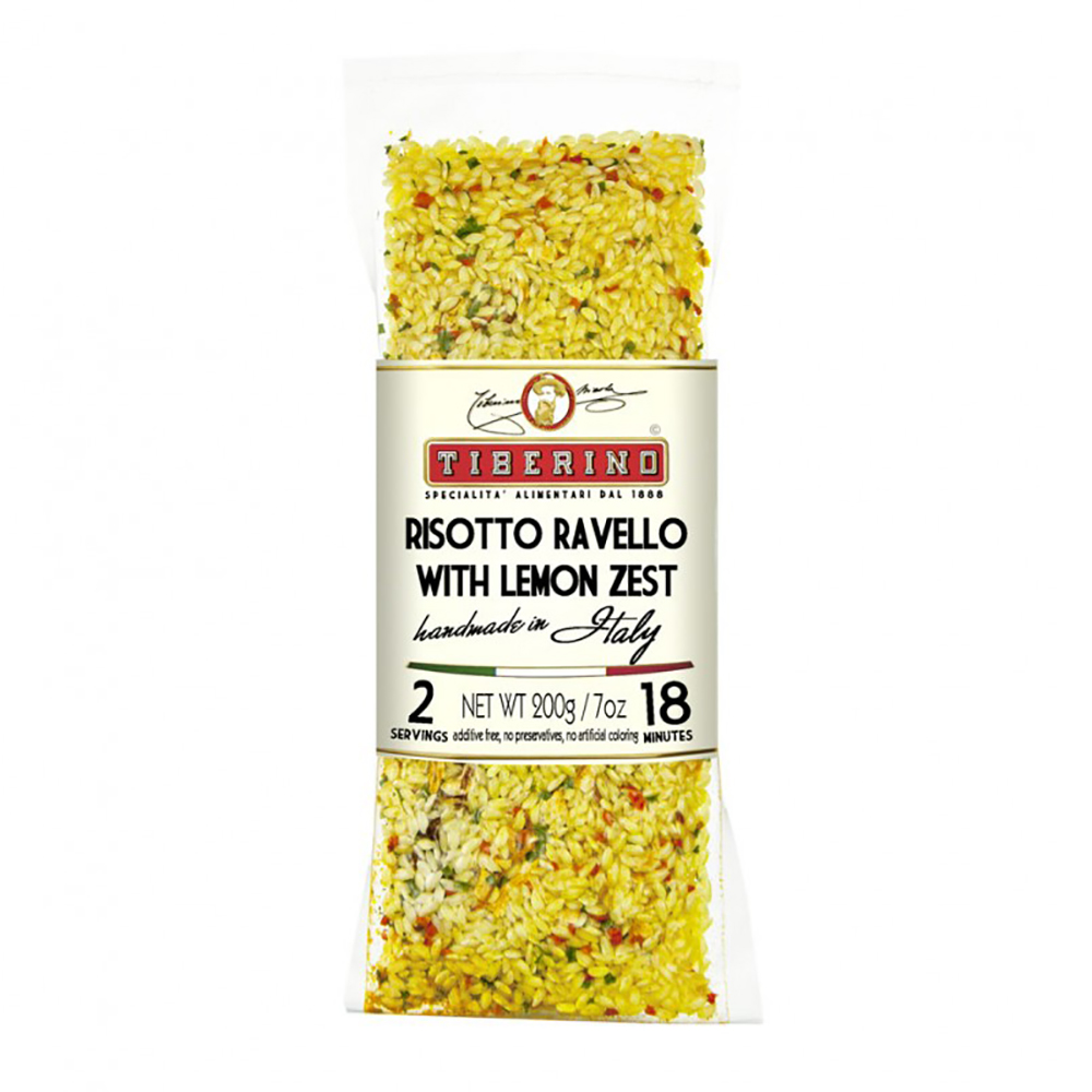 RISOTTO CARNAROLI WITH LEMON ZEST
