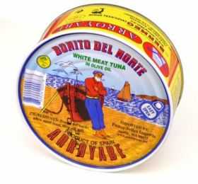 BONITO TUNA IN OIL TIN