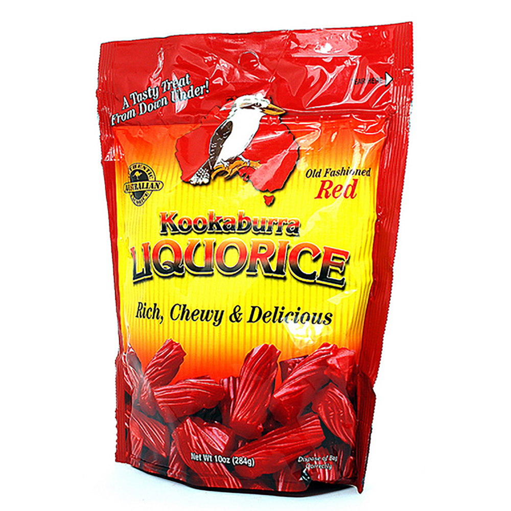 AUSTRALIAN RED LICORICE BAG