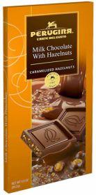 MILK CHOCOLATE WITH HAZELNUTS BAR