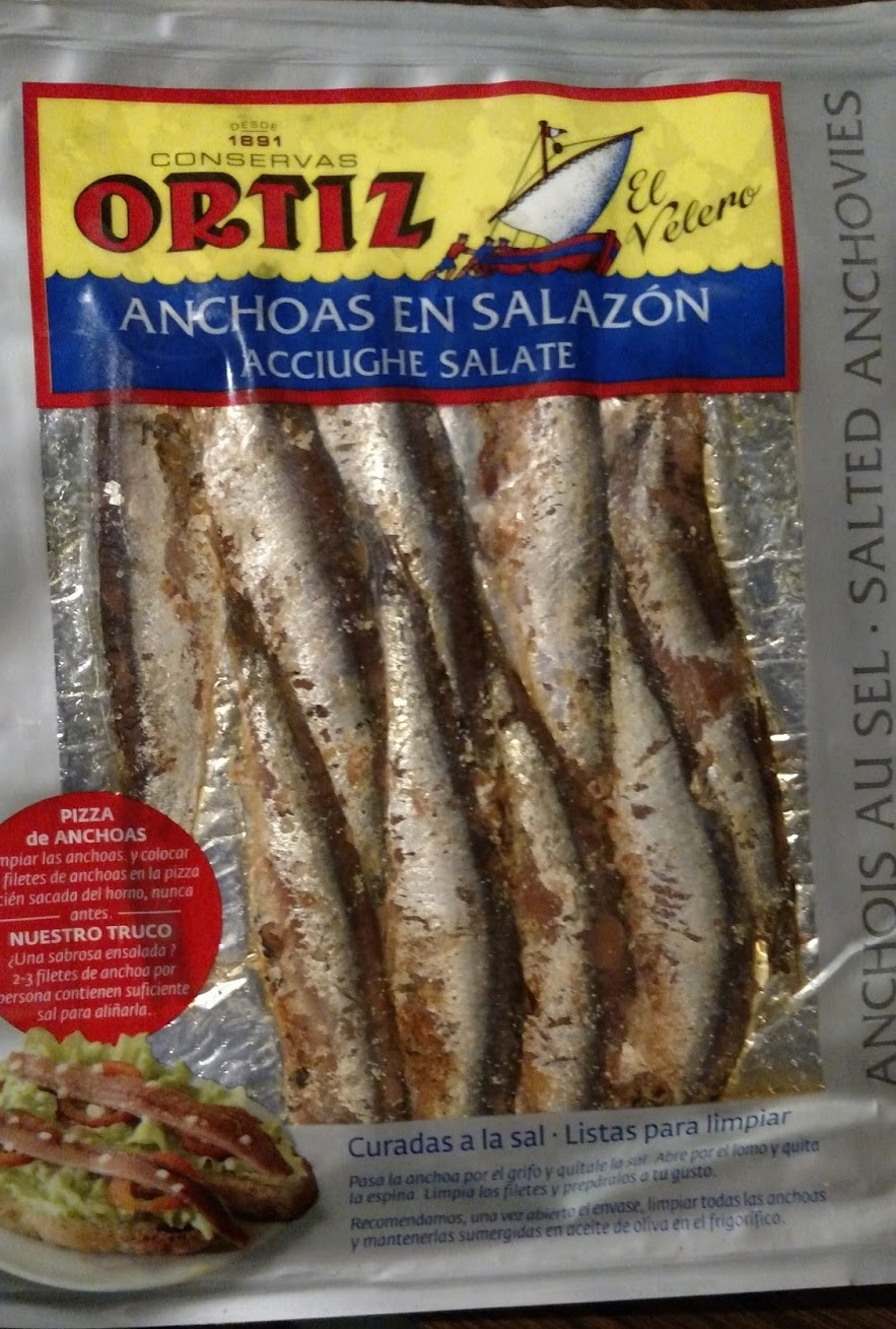 SALTED ANCHOIVES VACUUM