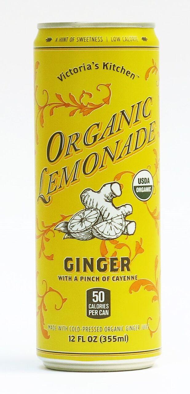 GINGER LEMONADE ORAGANIC CAN