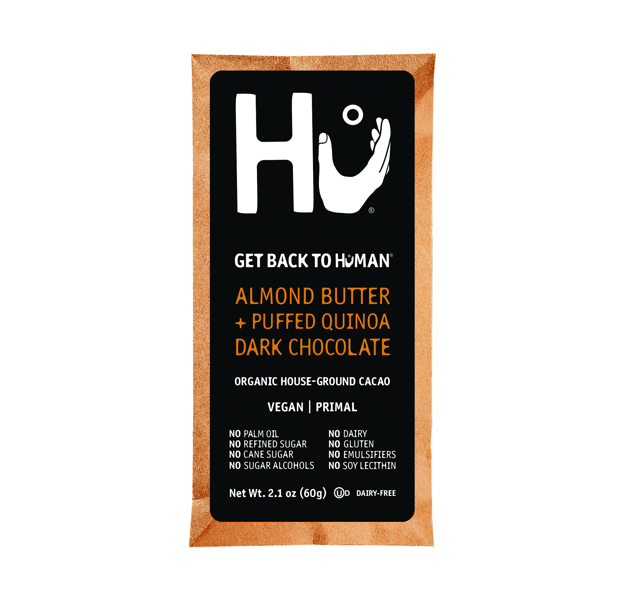 ALMOND BUTTER QUINOA FILL DARK BAR