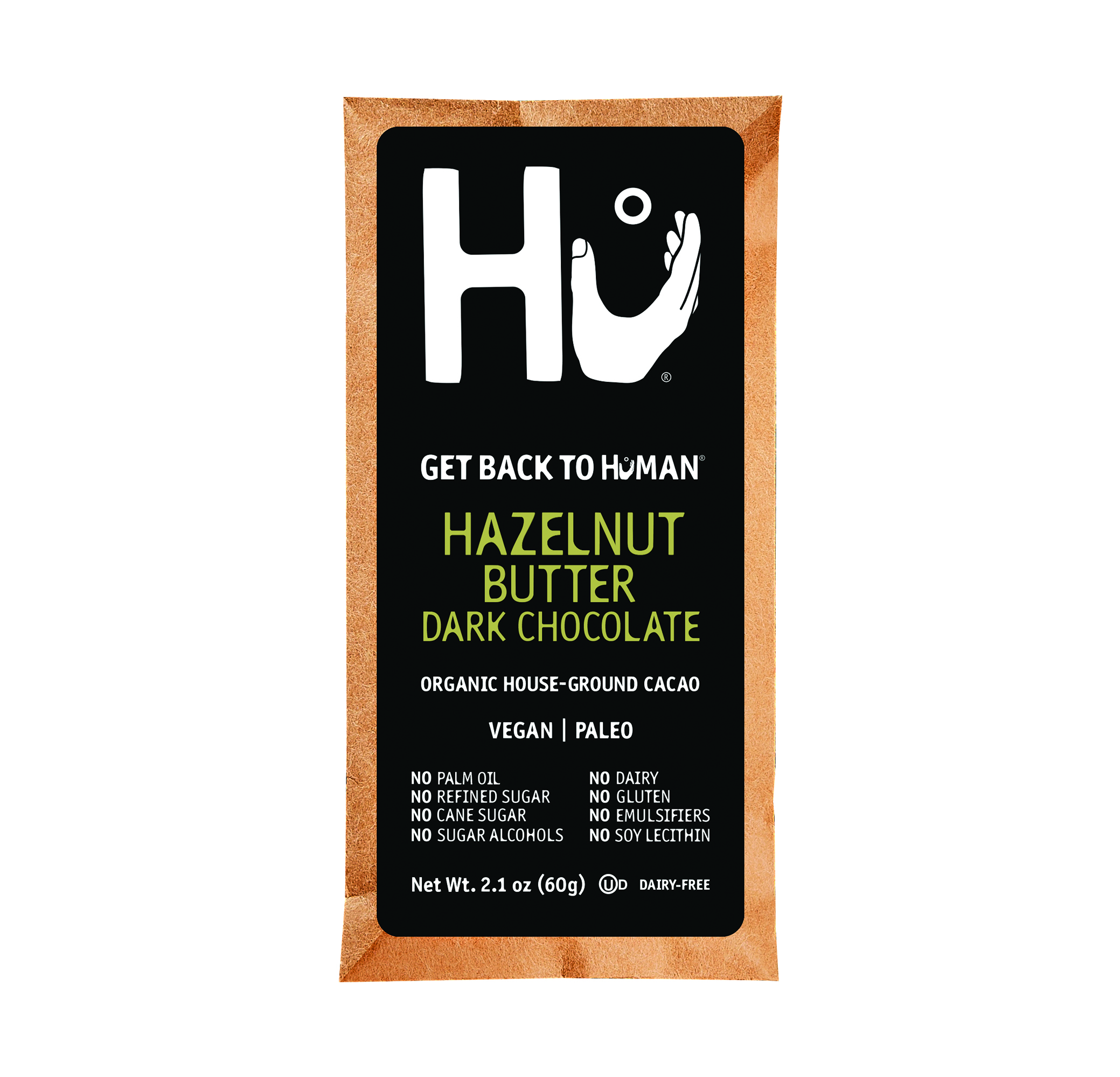 HAZELNUT BUTTER FILLED DARK BAR