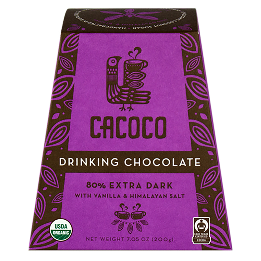 80% EXTRA DARK DRINKING CHOCOLATE