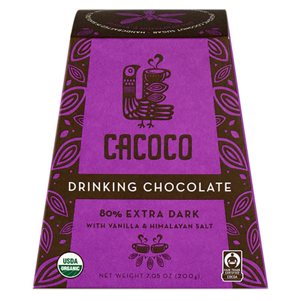 80% EXTRA DARK DRINKING CHOCOLATE