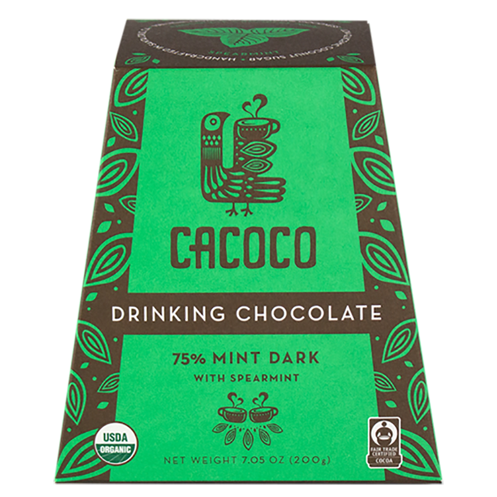 75% MINT DARK DRINKING CHOCOLATE