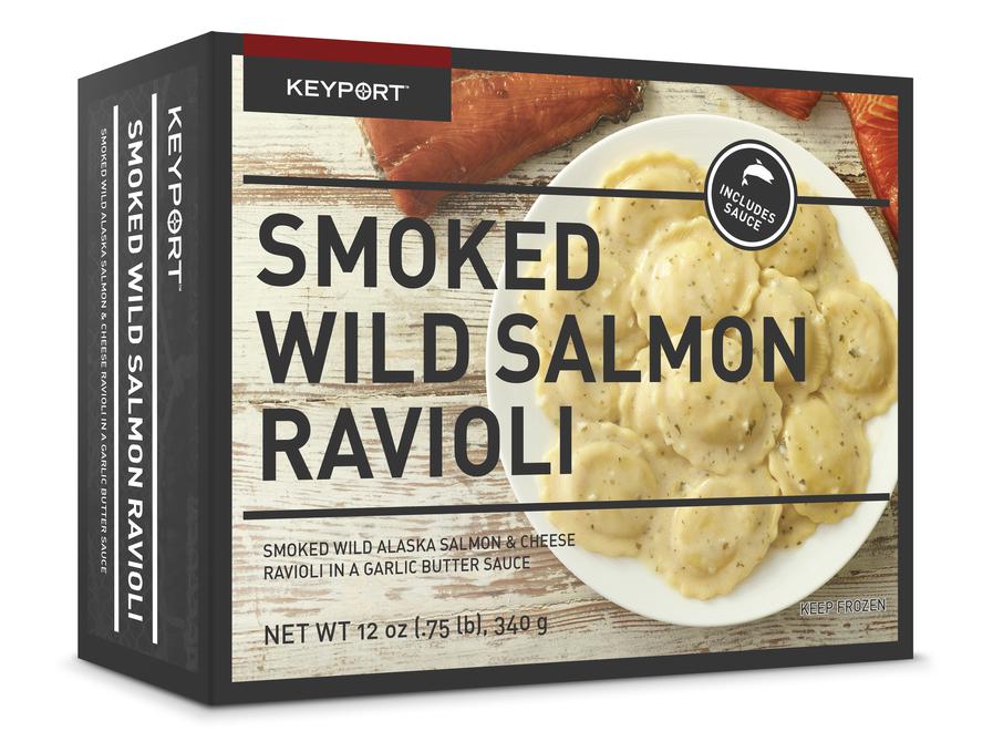 SMOKED WILD SALMON RAVIOLI