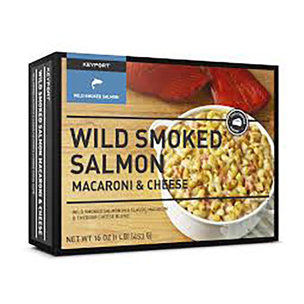 WILD SMOKED SALMON MAC & CHEESE