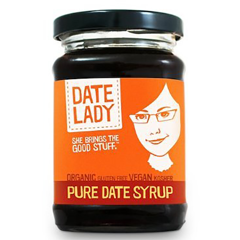 PURE DATE SYRUP (GLASS)