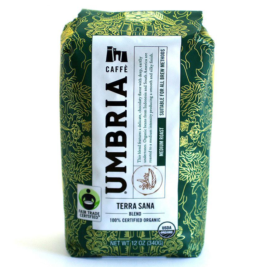 TERRA SANA FAIR TRADE OG COFFEE BAG