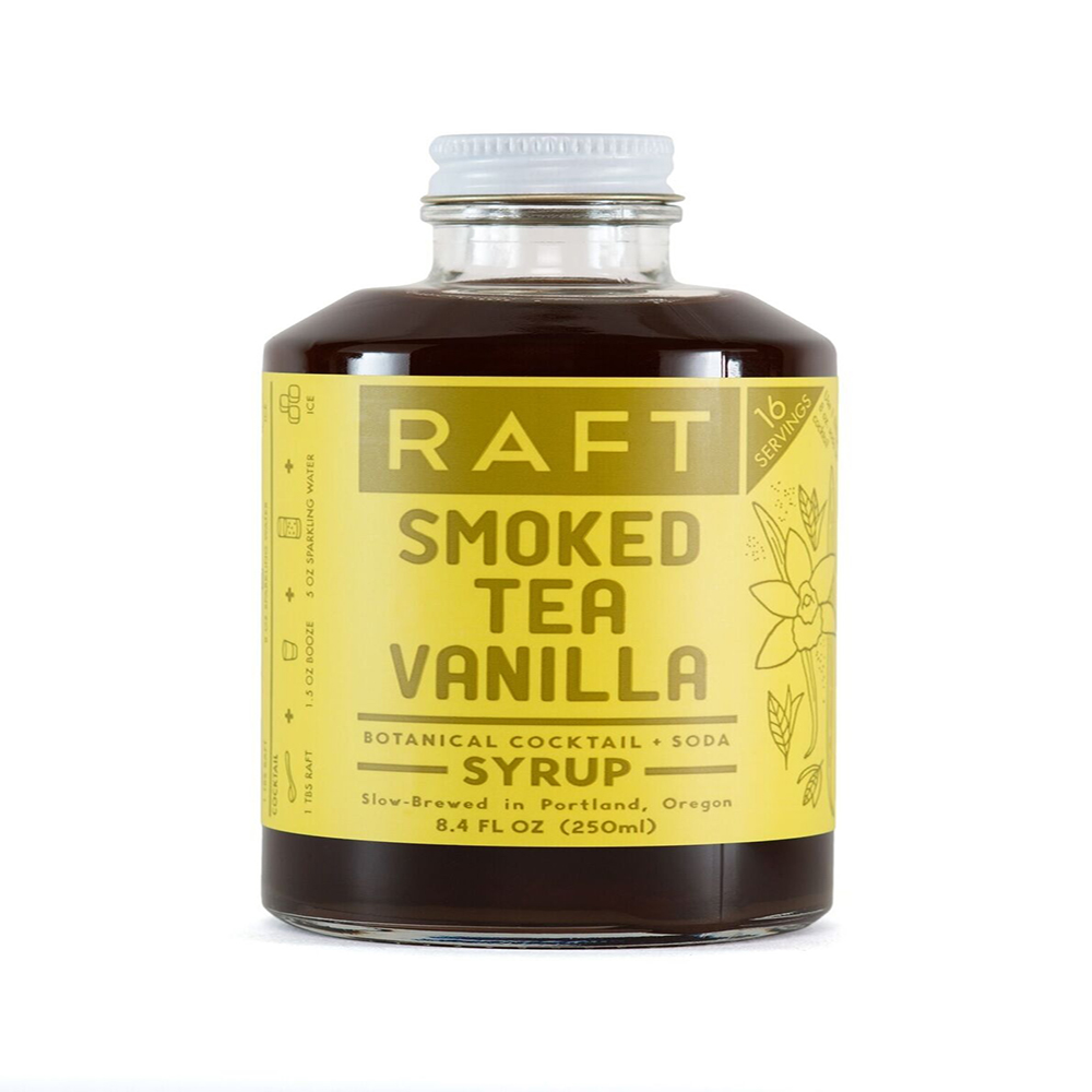 SMOKED TEA VANILLA SYRUP