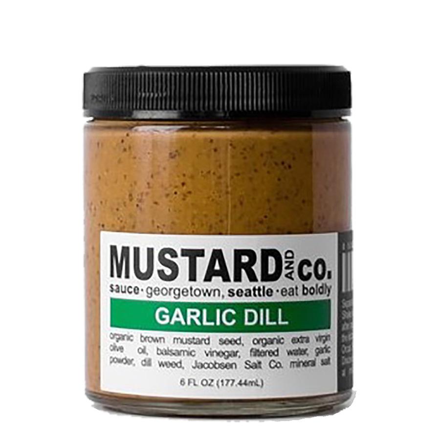 GARLIC DILL MUSTARD