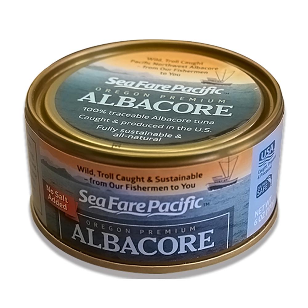 ALBACORE TUNA NO SALT