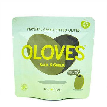 BASIL & GARLIC OLIVES