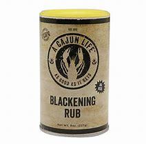 RUB BLACKENING
