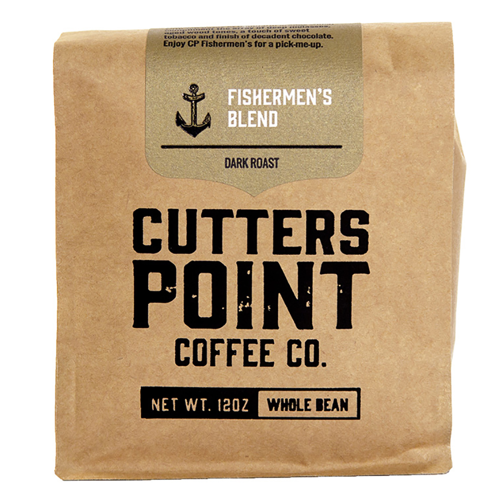 FISHERMEN'S WHOLE BEAN COFFEE BAG