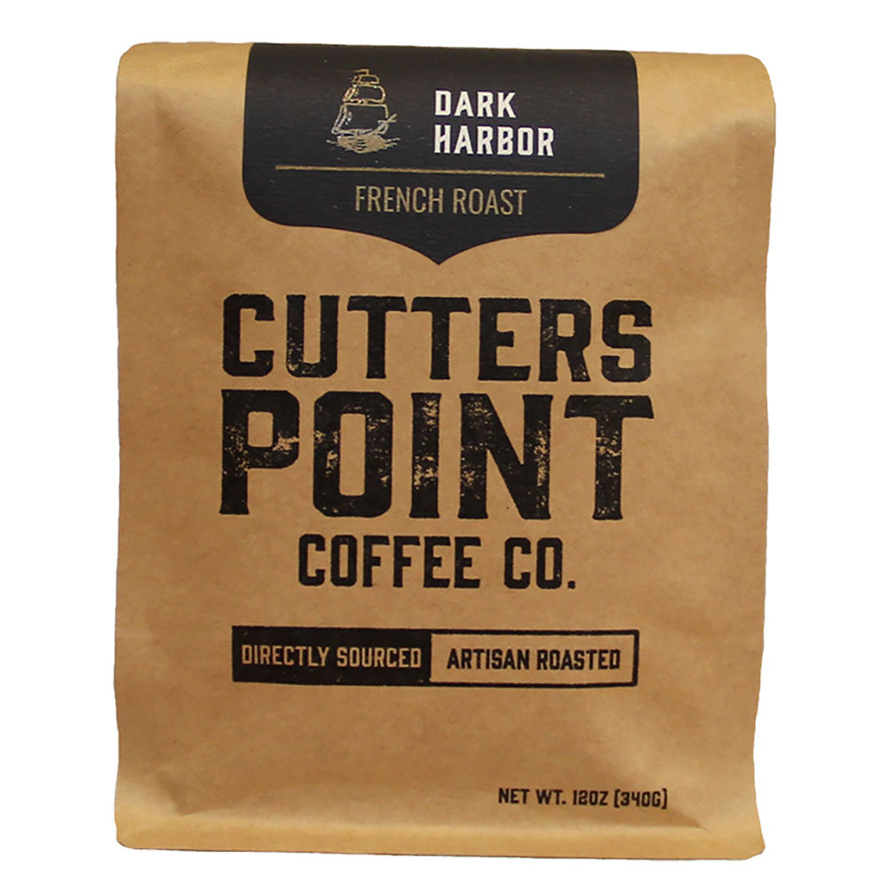 DARK HARBOR GROUND COFFEE BAG