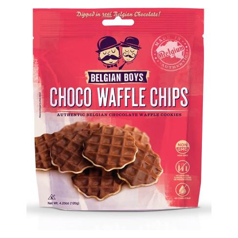 CHOCOLATE WAFFLE CHIPS