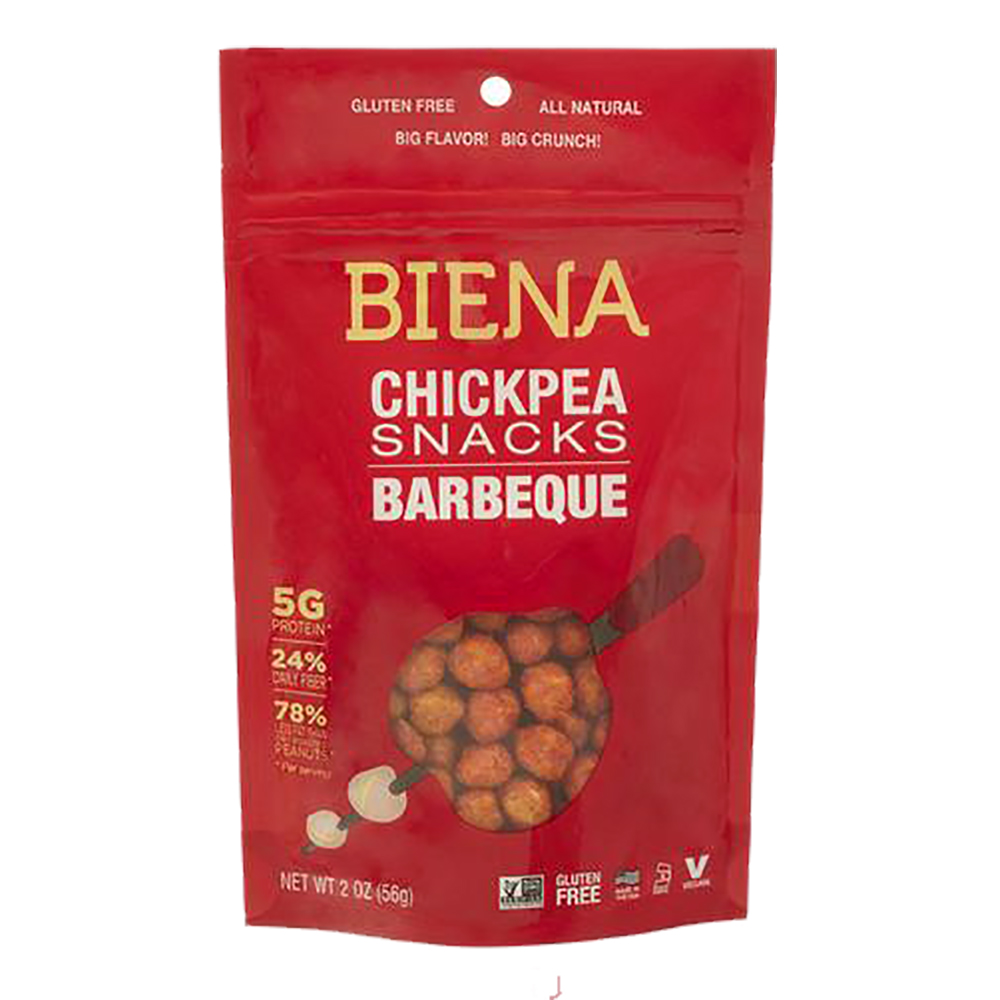 BBQ CHICKPEA SNACKS