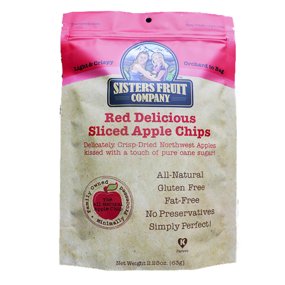 RED DELICIOUS APPLE CHIPS