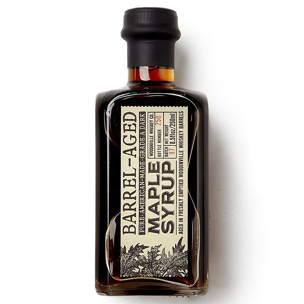 WHISKEY BARREL AGED (A) MAPLE SYRUP