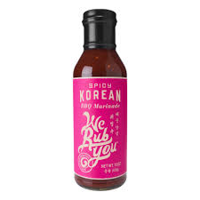 SPICY KOREAN BBQ MARINADE