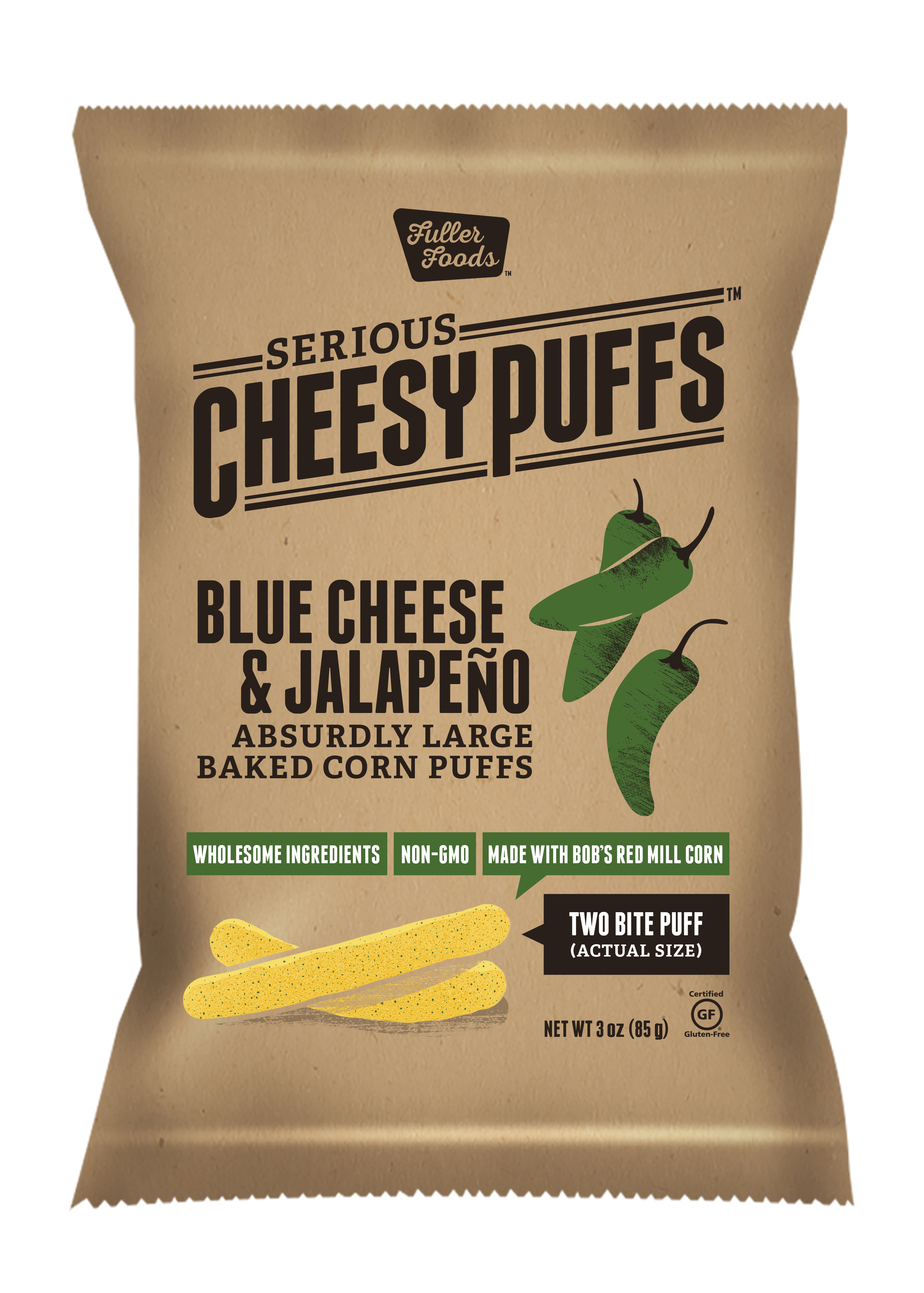 BLUE CHEESE JALAPENO CHEESE PUFFS