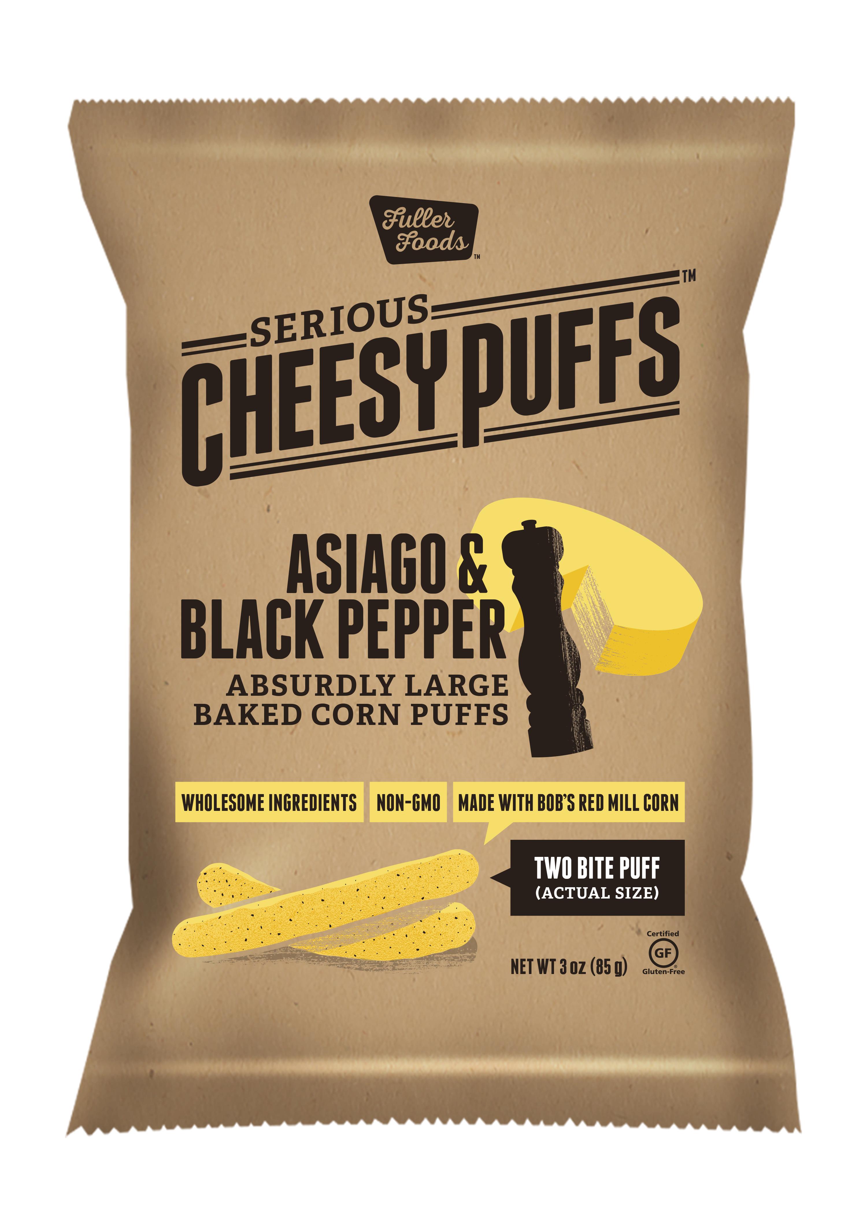 ASIAGO BLACK PEPPER CHEESE PUFFS