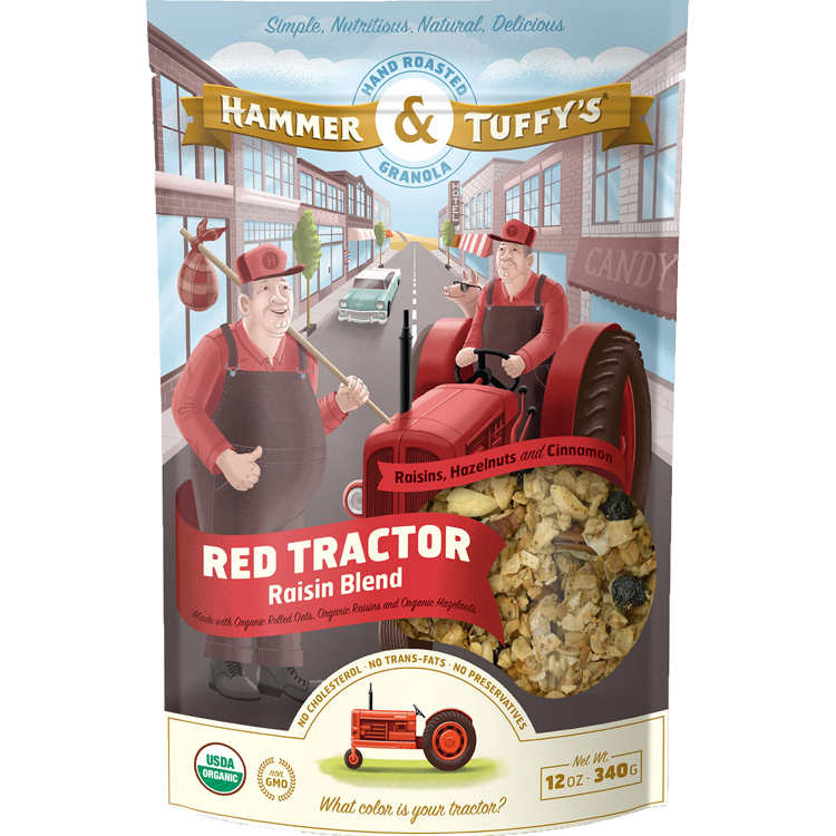 RED TRACTOR BLEND GRANOLA