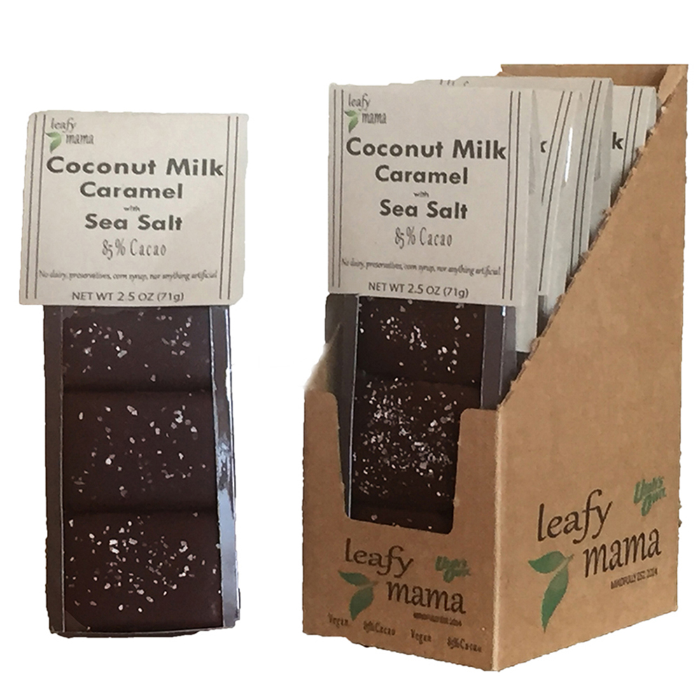 SEA SALT COCONUT MILK CARAMELS (V)