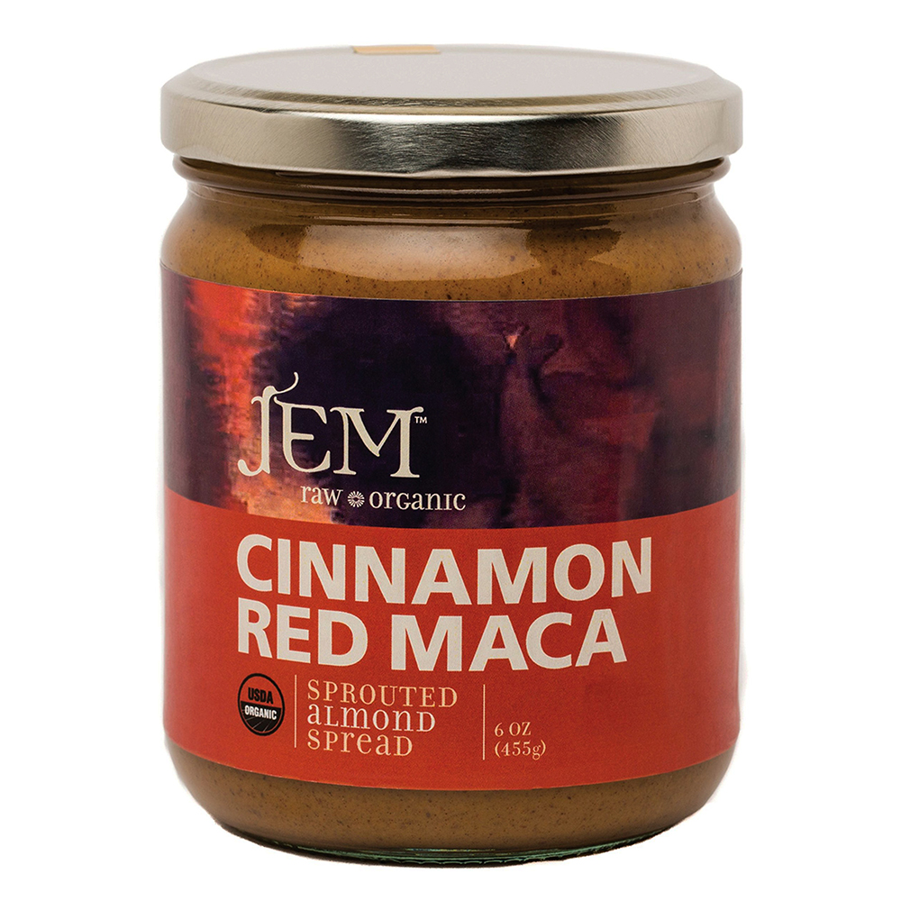 CINNAMON RED MACA ALMOND BUTTER
