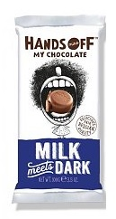 MILK MEETS DARK CHOCOLATE BAR