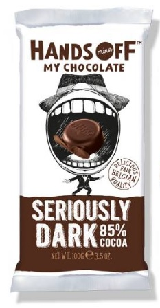 SERIOUSLY DARK CHOCOLATE BAR