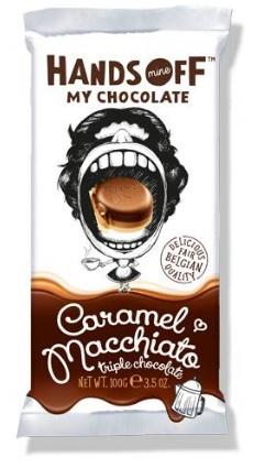 CARAMEL MACCHIATO MILK/WHITE BAR