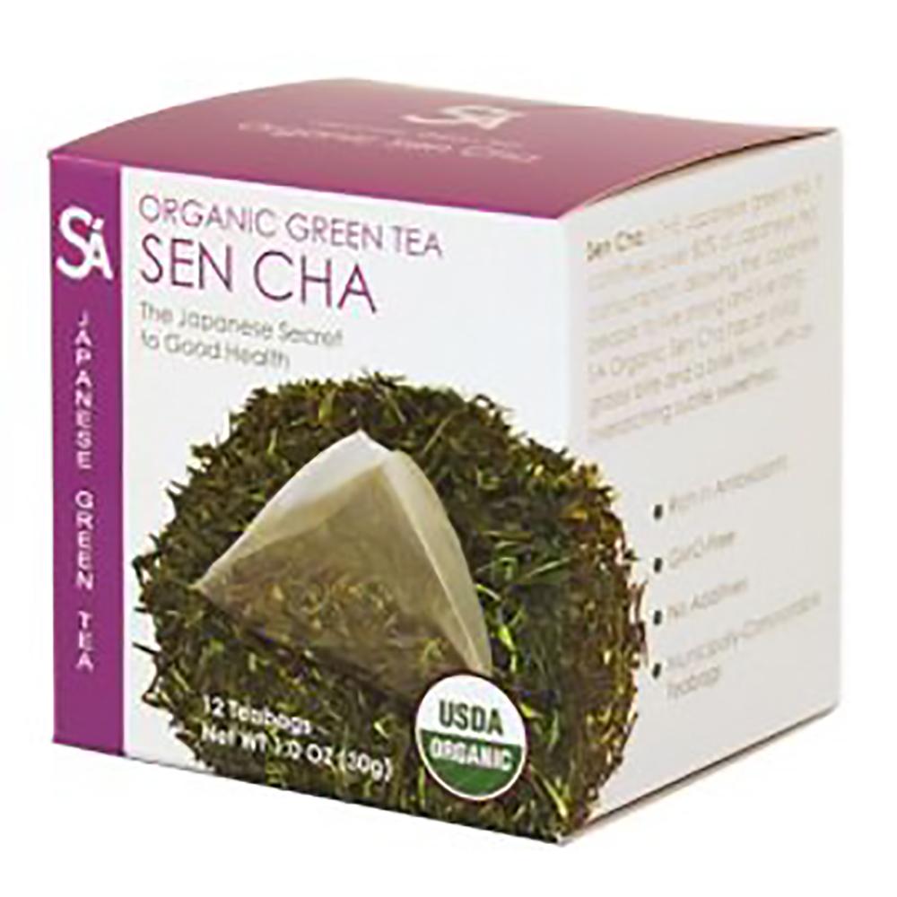 ORGANIC SEN CHA TEA BAGS