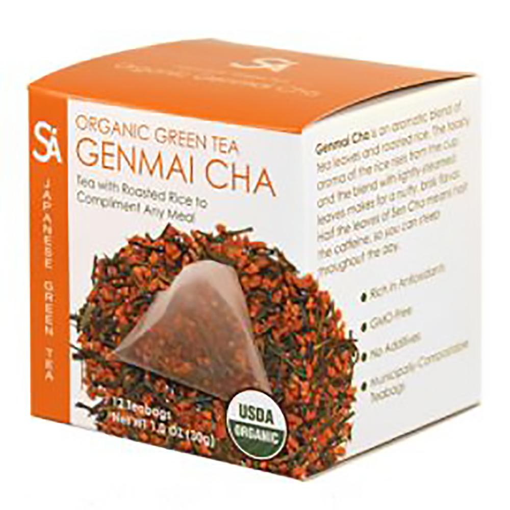 ORGANIC GENMAI CHA TEA BAGS