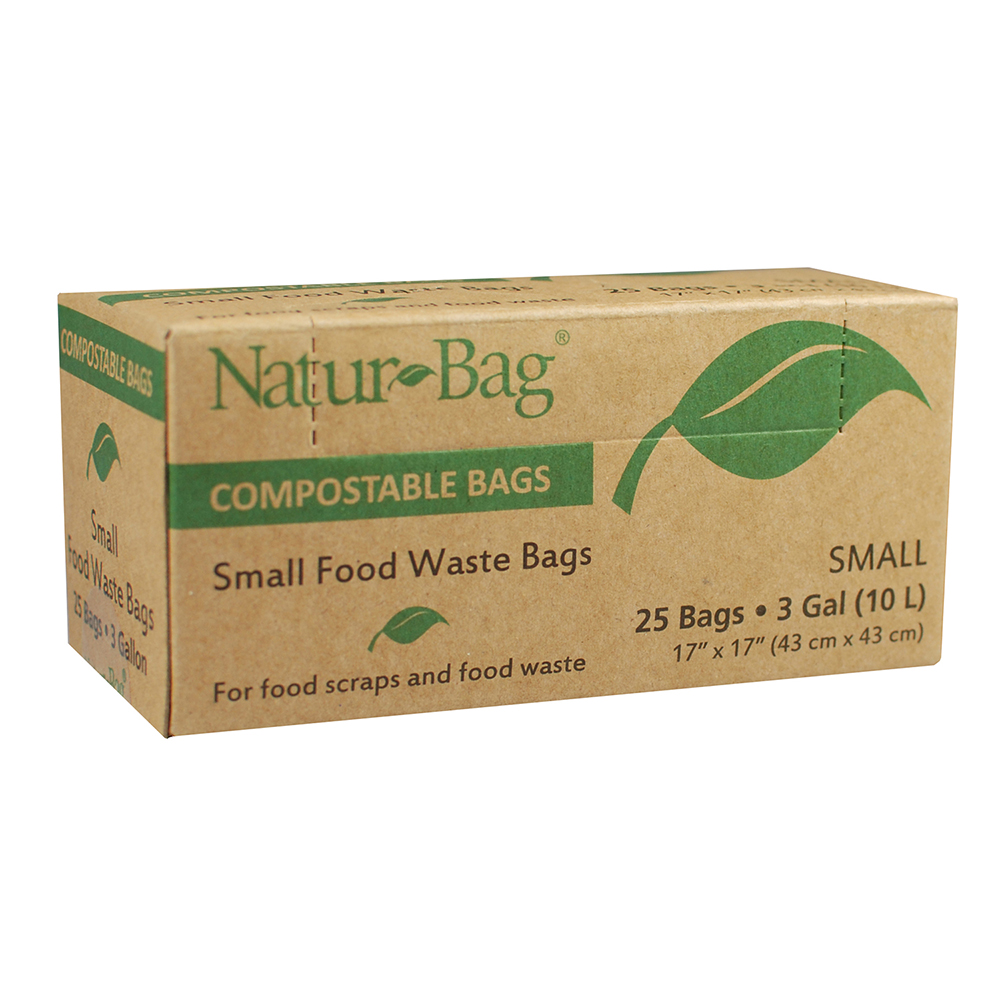 3GAL CAN LINER COMPOSTABLE