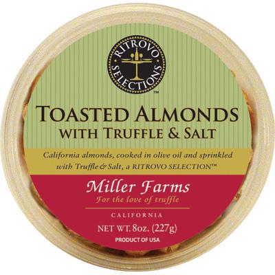 TRUFFLE & SALT TOASTED ALMONDS